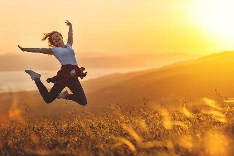 Reisen erfüllt die Seele mit Glück